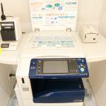 印刷・ファイリングスペース 最新の複合機のほか、文具やシュレッダーも完備し、同エリア内で商談資料の準備をスムーズに終えることができます。